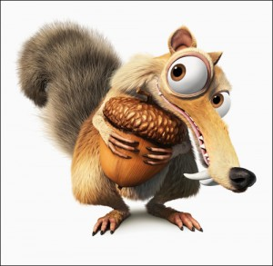Scrat the Saber-toothed squirrel